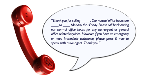 Record Personal Voicemail Greeting